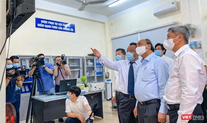 Chủ tịch nước Nguyễn Xuân Phúc: Đà Nẵng cần sẵn sàng các phương án để bao vây, dập dịch COVID-19 ảnh 1
