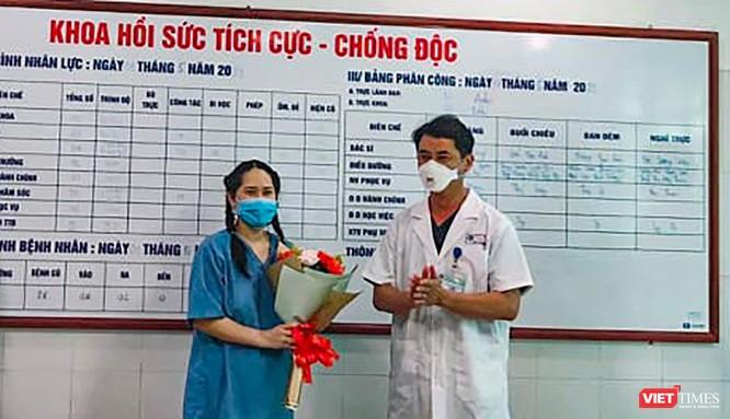 Nữ điều dưỡng bị sốc sau tiêm vắc xin COVID-19 ở Đà Nẵng đã bình phục, được ra viện ảnh 1