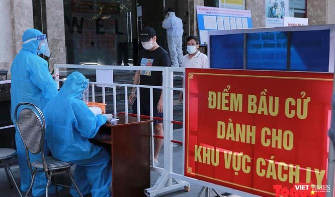 Ảnh: Cử tri toàn TP Đà Nẵng đi bầu cử đại biểu Quốc hội và HĐND TP ảnh 15