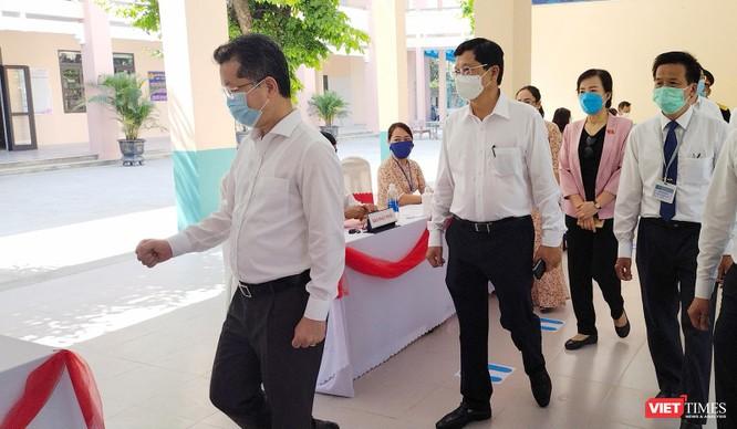 Ảnh: Cử tri toàn TP Đà Nẵng đi bầu cử đại biểu Quốc hội và HĐND TP ảnh 4