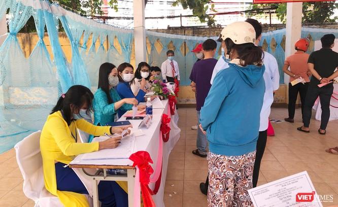 Ảnh: Cử tri toàn TP Đà Nẵng đi bầu cử đại biểu Quốc hội và HĐND TP ảnh 9