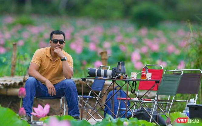 Ảnh: Vẻ đẹp khó cưỡng của đầm sen lớn Trà Lý ở Quảng Nam ảnh 31