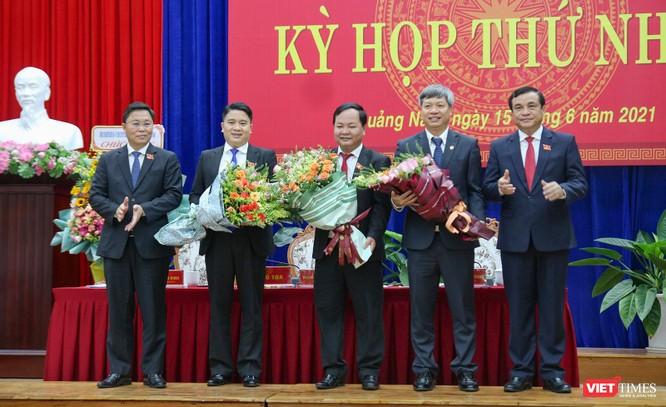 Quảng Nam có tân Chủ tịch HĐND và Chủ tịch UBND tỉnh ảnh 1