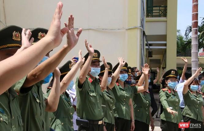 Đoàn bác sĩ Bệnh viện 199 Đà Nẵng lên đường chi viện cho TP. HCM chống dịch COVID-19 ảnh 5