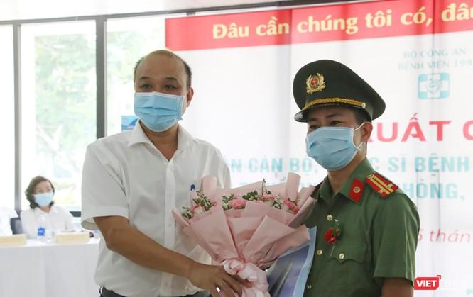 Đoàn bác sĩ Bệnh viện 199 Đà Nẵng lên đường chi viện cho TP. HCM chống dịch COVID-19 ảnh 2