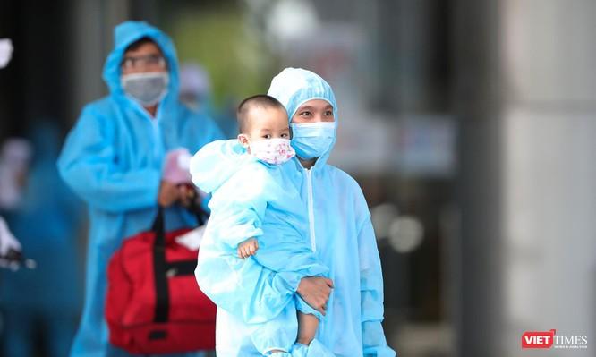 Ảnh: Đà Nẵng đón người dân từ TP HCM về nhà ảnh 22