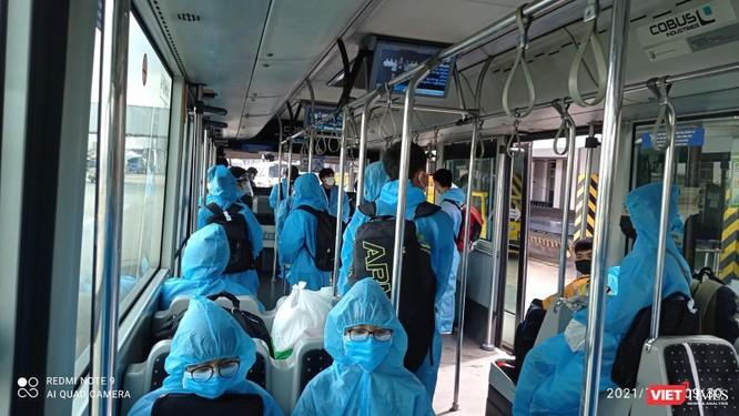 Ảnh: Đà Nẵng đón người dân từ TP HCM về nhà ảnh 5
