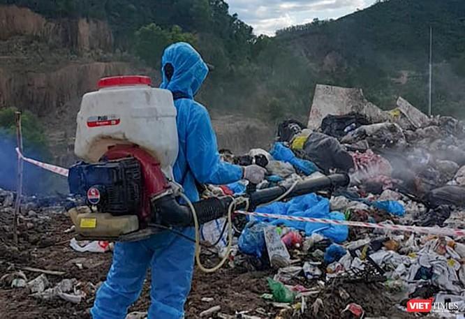 Đà Nẵng: Sẽ xử nghiêm vụ xe thu gom chở rác y tế đổ ở bãi rác Khánh Sơn ảnh 2