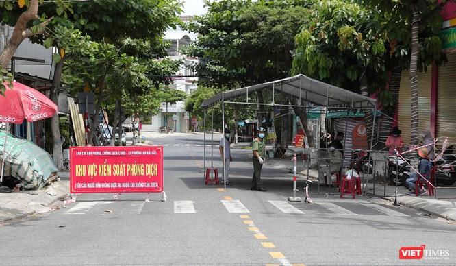 Ảnh: Cận cảnh chốt kiểm soát 5 phường trên địa bàn quận Sơn Trà (Đà Nẵng) ảnh 26