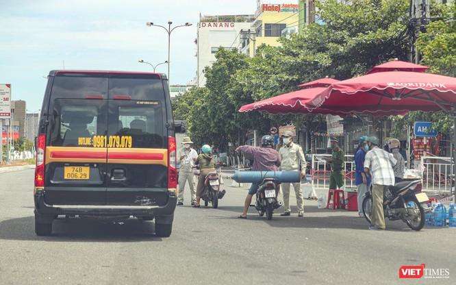 Ảnh: Cận cảnh chốt kiểm soát 5 phường trên địa bàn quận Sơn Trà (Đà Nẵng) ảnh 17