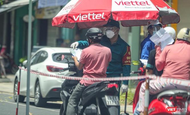 Ảnh: Cận cảnh chốt kiểm soát 5 phường trên địa bàn quận Sơn Trà (Đà Nẵng) ảnh 35