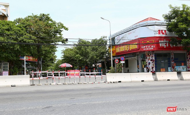 Ảnh: Cận cảnh chốt kiểm soát 5 phường trên địa bàn quận Sơn Trà (Đà Nẵng) ảnh 22