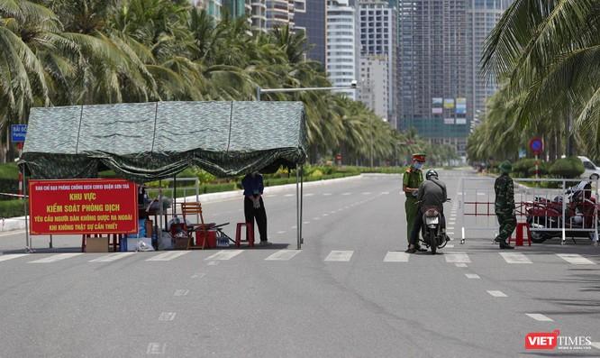 Ảnh: Cận cảnh chốt kiểm soát 5 phường trên địa bàn quận Sơn Trà (Đà Nẵng) ảnh 4