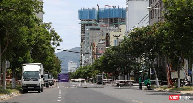 Ảnh: Cận cảnh chốt kiểm soát 5 phường trên địa bàn quận Sơn Trà (Đà Nẵng) ảnh 10