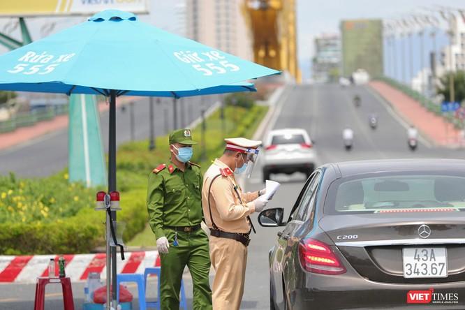 Ảnh: Cận cảnh chốt kiểm soát 5 phường trên địa bàn quận Sơn Trà (Đà Nẵng) ảnh 2