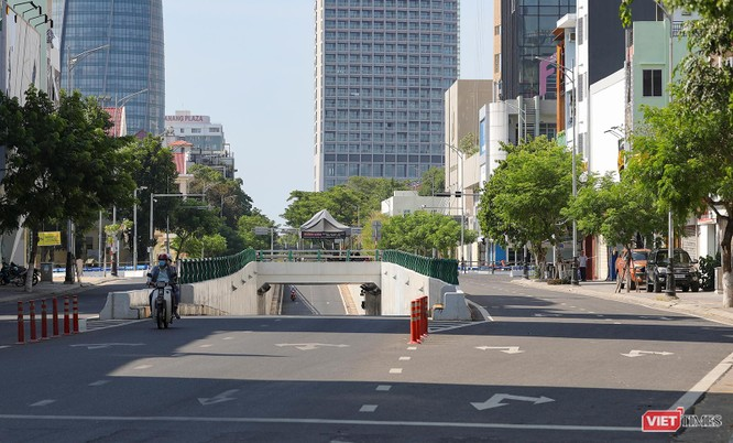 Ảnh: Đường phố Đà Nẵng ra sao sau 10 ngày giãn cách xã hội! ảnh 6