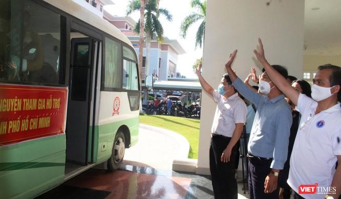 Quảng Nam: Đoàn y bác sĩ tình nguyện lên đường hỗ trợ TP HCM chống dịch COVID-19 ảnh 6