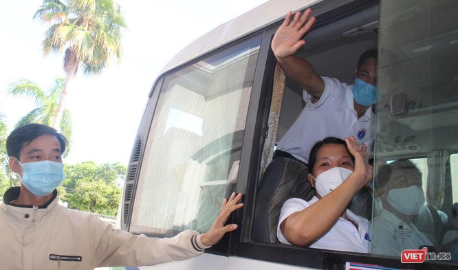 Quảng Nam: Đoàn y bác sĩ tình nguyện lên đường hỗ trợ TP HCM chống dịch COVID-19 ảnh 8