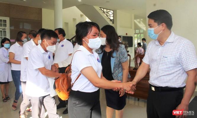 Quảng Nam: Đoàn y bác sĩ tình nguyện lên đường hỗ trợ TP HCM chống dịch COVID-19 ảnh 4