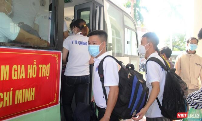 Quảng Nam: Đoàn y bác sĩ tình nguyện lên đường hỗ trợ TP HCM chống dịch COVID-19 ảnh 5