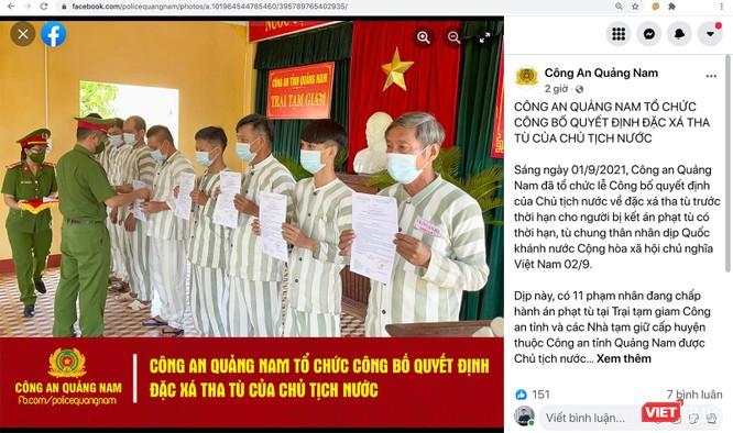 Công an Quảng Nam dùng facebook để tương tác gần dân hơn ảnh 1