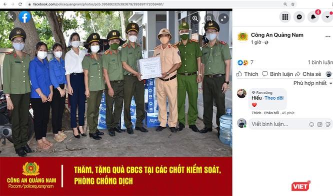 Công an Quảng Nam dùng facebook để tương tác gần dân hơn ảnh 2