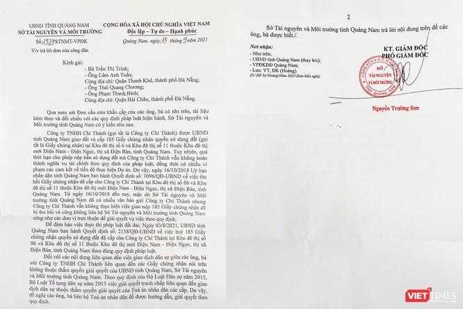 Vụ huỷ 185 sổ đỏ ở Quảng Nam: UBND tỉnh không giải quyết tranh chấp giữa các bên ảnh 2