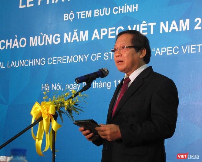 Bộ tem chào mừng APEC khẳng định vai trò, tầm nhìn chiến lược của Việt Nam ảnh 1