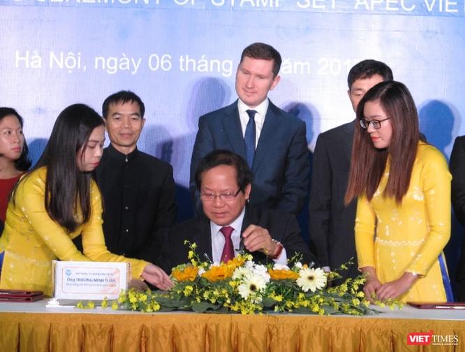 Bộ tem chào mừng APEC khẳng định vai trò, tầm nhìn chiến lược của Việt Nam ảnh 2