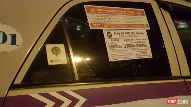 Một xe của hãng Taxi Quê Lụa