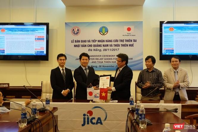 Nhật Bản tặng 105 máy lọc nước cho người dân Quảng Nam, Thừa thiên Huế ảnh 1