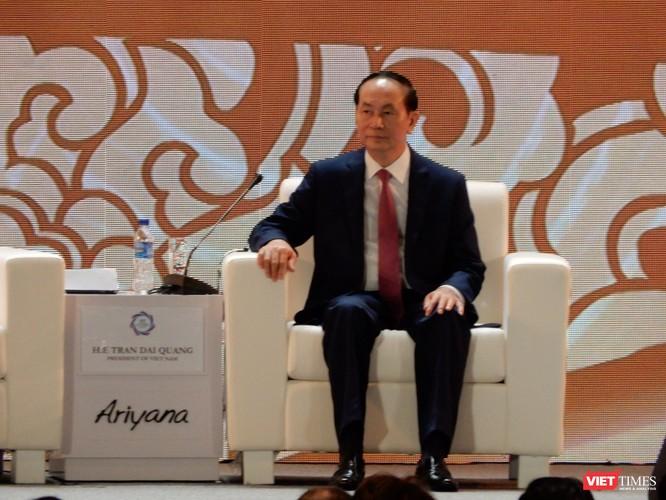 Chủ tịch nước Trần Đại Quang kêu gọi xây dựng một Châu Á - Thái Bình Dương hòa bình, ổn định, năng động, gắn kết và thịnh vượng