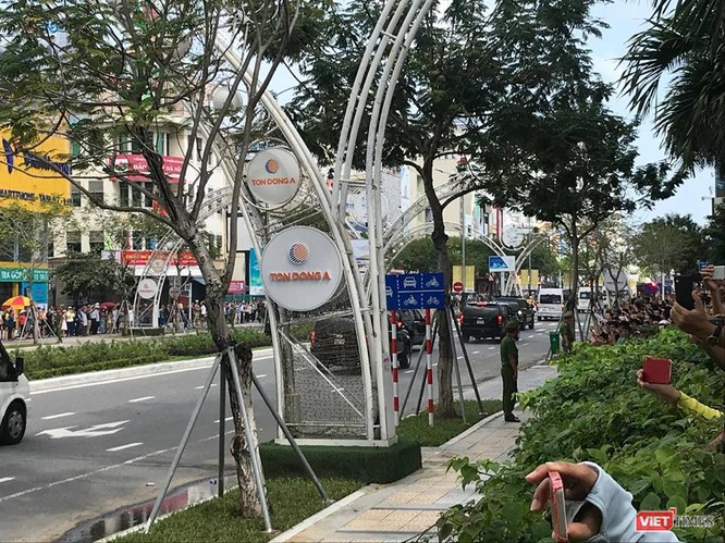 Lễ đón Tổng thống Mỹ Donald Trump đến Đà Nẵng dự Tuần lễ cấp cao APEC ảnh 22