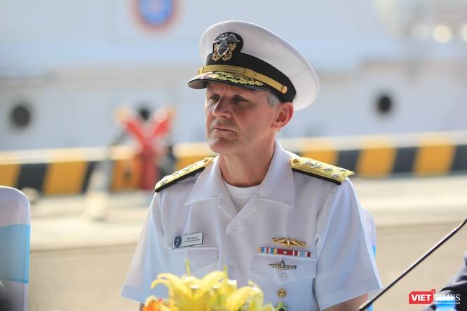 Tại buổi lễ, Tư lệnh Hạm đội 7, Hải quân Mỹ cho biết Mỹ rất muốn đem tàu ngầm đến thăm Việt Nam