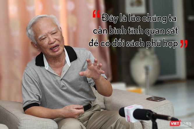 Nguyên Phó thủ tướng Vũ Khoan: sự kiện này không chỉ đơn thuần về kinh tế mà còn mang tính chất chính trị ảnh 2