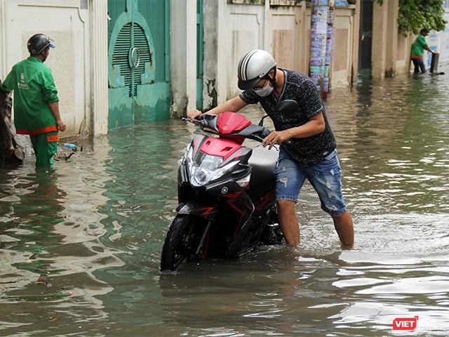Người Sài Gòn trấn tĩnh sau bão lớn ảnh 4