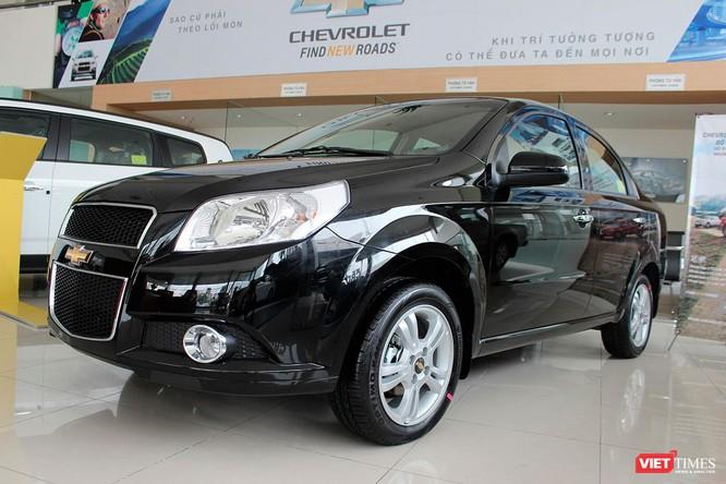 Chevrolet Aveo cũng nhận được mức giảm khá từ 50-60 triệu đồng
