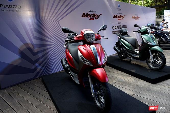 Piaggio Việt Nam ra mắt Medley ABS 2018, giá tăng nhẹ, thêm màu mới ảnh 3