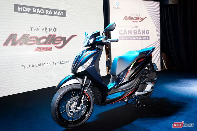 Piaggio Việt Nam ra mắt Medley ABS 2018, giá tăng nhẹ, thêm màu mới ảnh 2