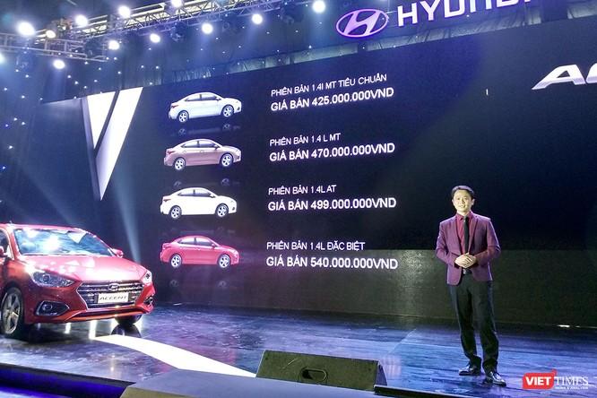 Tham vọng giành ngôi vương phân khúc B, Hyundai Accent 2018 chỉ có giá từ 425 triệu ảnh 5