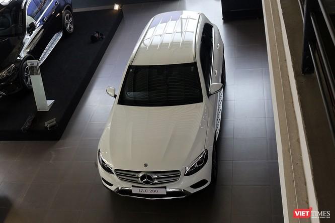 Cận cảnh những chi tiết khác biệt trên phiên bản mới Mercedes-Benz GLC 200 ảnh 9