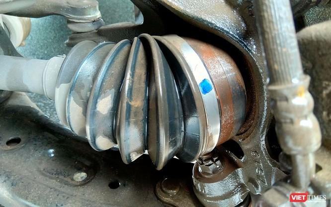 Hiện tượng một số chi tiết gỉ sét trên Honda CR-V 2018 có ảnh hưởng đến độ an toàn? ảnh 1