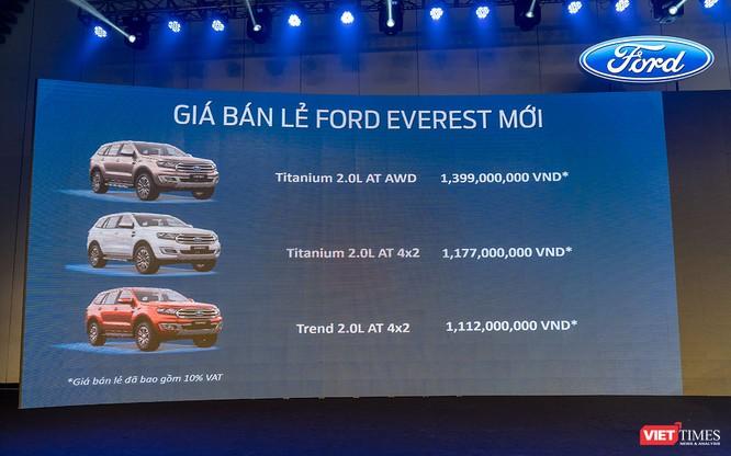 Giảm 537 triệu, Ford Everest 2018 tại Việt Nam có gì đáng chú ý? ảnh 17