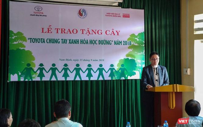 Toyota Việt Nam triển khai chương trình chung tay xanh hóa học đường tại 6 tỉnh ảnh 2