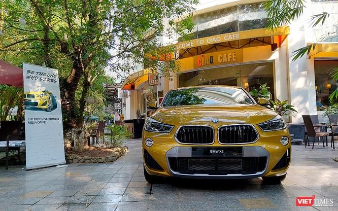 Cận cảnh BMW X2 chuẩn bị ra mắt tại thị trường Việt Nam ảnh 1