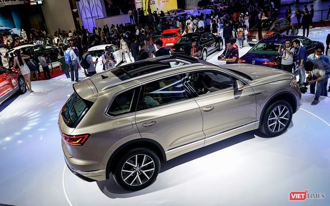 """VW Touareg 2019: Sứ mệnh rũ bỏ mác """"xe bình dân"""" ảnh 10"""
