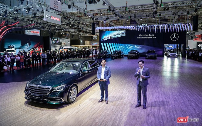 Có gì đáng xem ở gian hàng Mercedes-Benz? ảnh 1