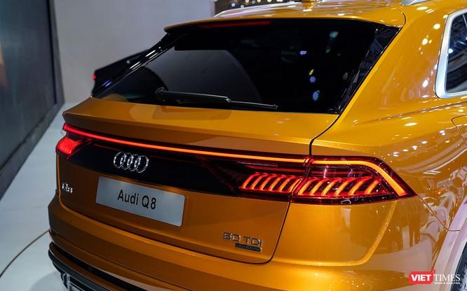 Đầu năm 2019, Audi Q8 mới được bán ra thị trường Việt Nam, giá dự kiến 4,5 tỷ đồng ảnh 7
