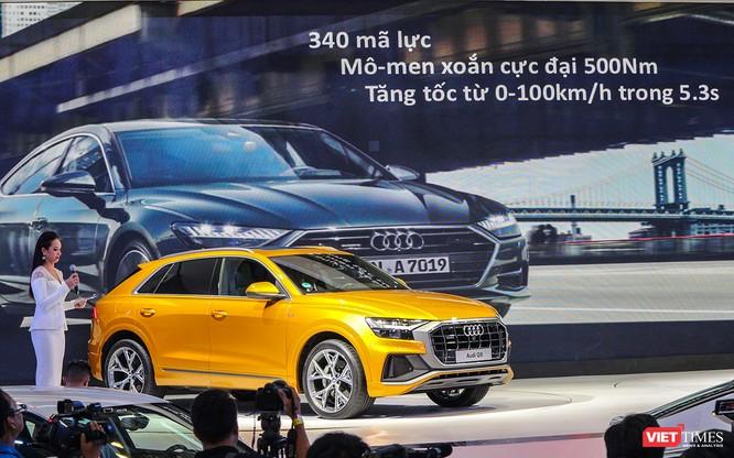 Đầu năm 2019, Audi Q8 mới được bán ra thị trường Việt Nam, giá dự kiến 4,5 tỷ đồng ảnh 14