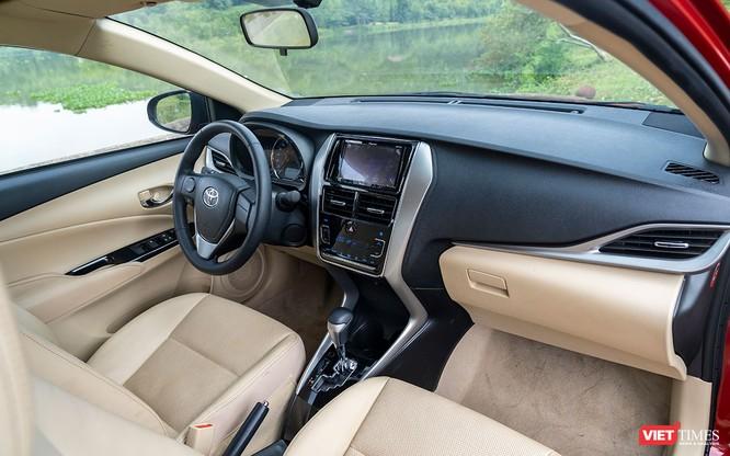Toyota Vios 2018: Khi ngôi vương không chỉ nhờ vào thương hiệu ảnh 40